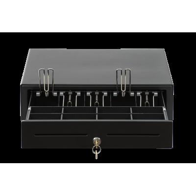 Денежный ящик АТОЛ CD-410-B 24V (черный, белый)